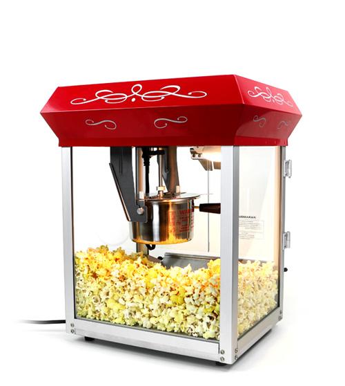 popcorn machine ingredients