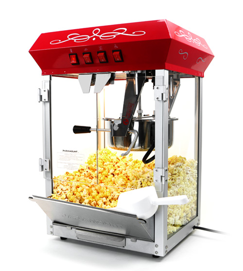 Paramount 8oz Popcorn Maker Machine & Cart